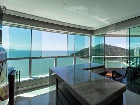 Vista panor�mica do mar, finamente mobiliado e decorado! - Pronto para morar - Centro - Balne�rio Cambori�
